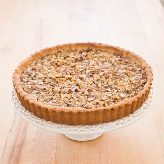 Gluten-Free Rustic Walnut Tart