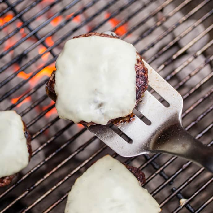 Grilled Well-Done Burgers