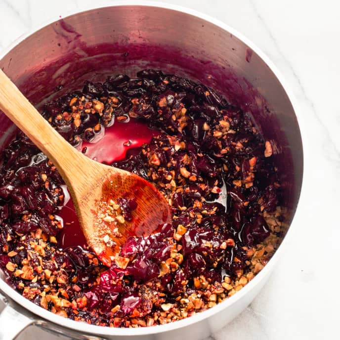 Brandied Cherry and Hazelnut Conserve