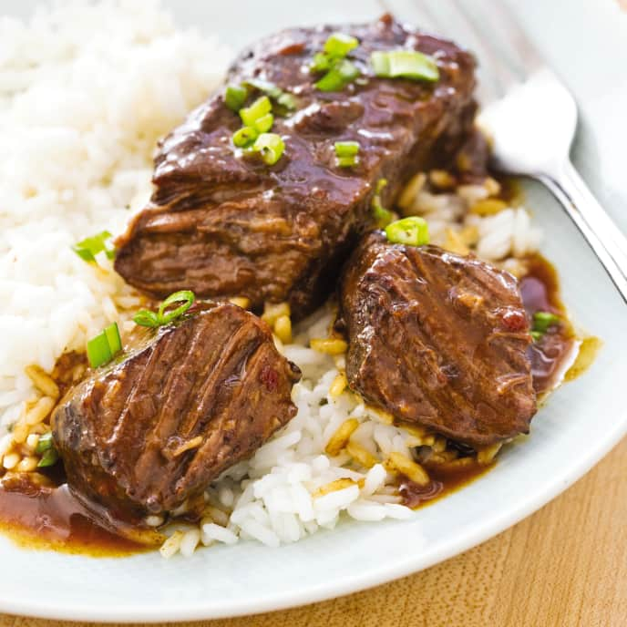 Slow-Cooker Asian-Style Braised Short Ribs