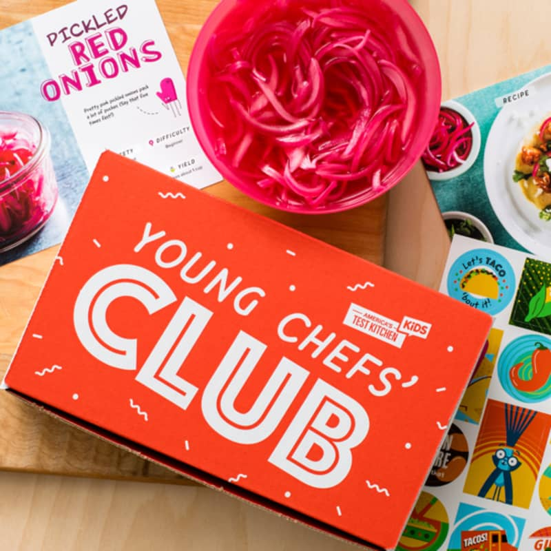 Young Chef's Club box contents