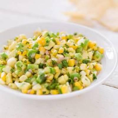 Fresh Corn Salsa with Avocado and Toasted Cumin
