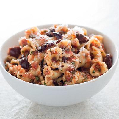 Summer Pasta Puttanesca