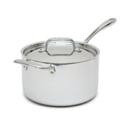 Tramontina Gourmet Tri-Ply Clad 4 Qt. Covered Sauce Pan