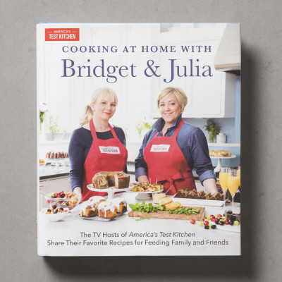 Cooking at Home with Bridget and Julia, Signed Copy