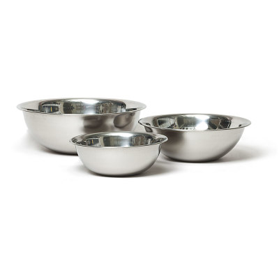 Vollrath Economy Stainless Steel Mixing Bowls