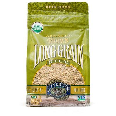 Lundberg Organic Brown Long Grain Rice
