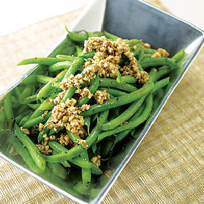 Green Beans with Hazelnuts and Brown Butter