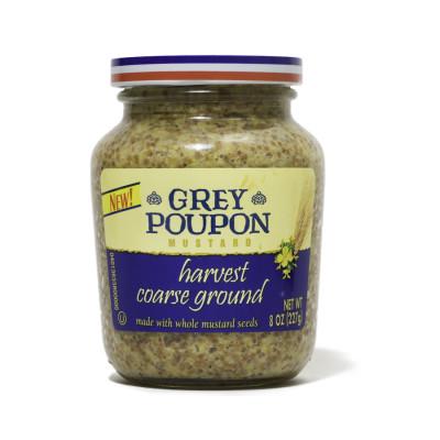 Grey Poupon Harvest Coarse Ground Mustard