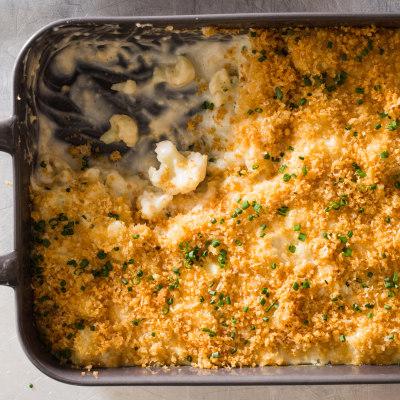 Modern Cauliflower Gratin