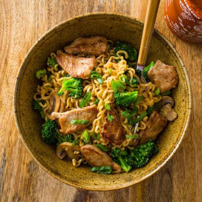 One-Pan Noodle Bowls