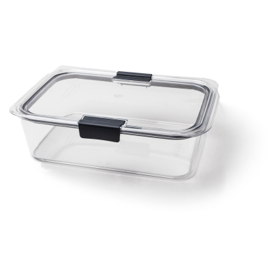 Rubbermaid Brilliance Food Storage Container, Large, 9.6 Cup