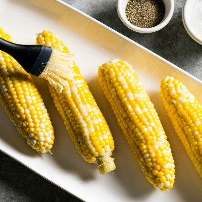 Sous Vide Butter-Poached Corn on the Cob