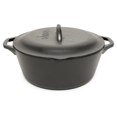 Lodge 7-Quart Cast Iron Dutch Oven