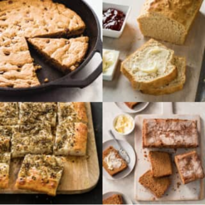 baking recipes made with pantry staples