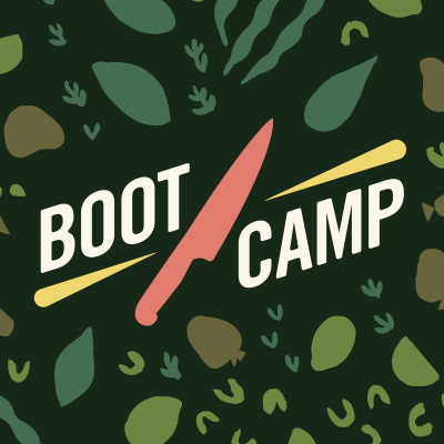 Boot camp title screen