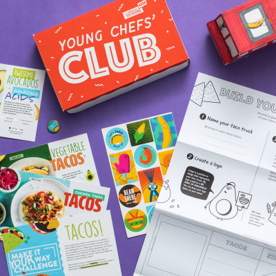 Introducing the Young Chefs' Club