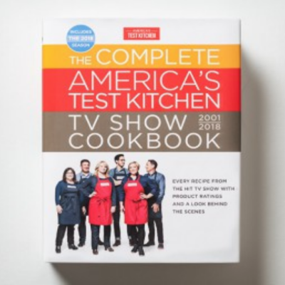 The Complete America's Test Kitchen TV Show Cookbook
