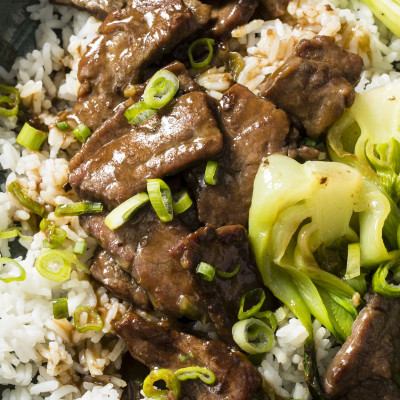 Cook's Country recipe for Stir-Fried Beef and Bok Choy