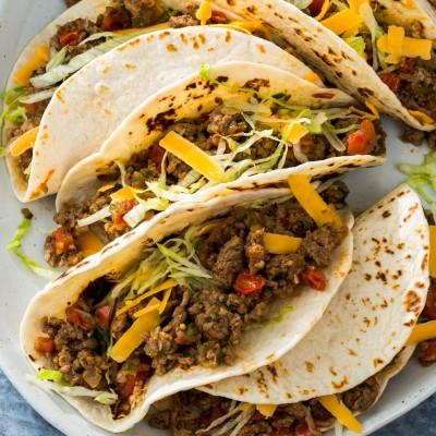 Weeknight Ground Beef Tacos