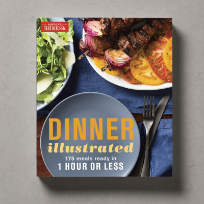 Cover of Dinner Illustrated Cookbook