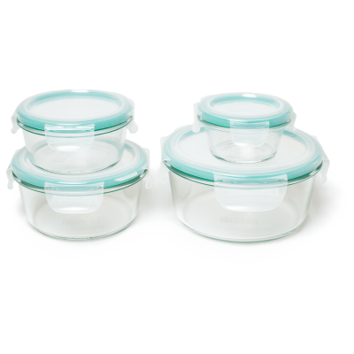 OXO Good Grips Smart Seal 8 Piece Round Container Set