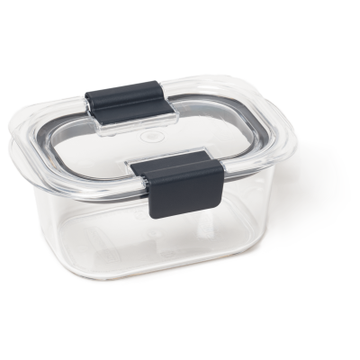 Rubbermaid Brilliance Food Storage Container, Small, 1.3 Cup