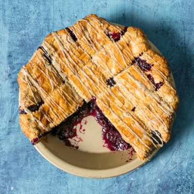 Blueberry Earl Grey Pie