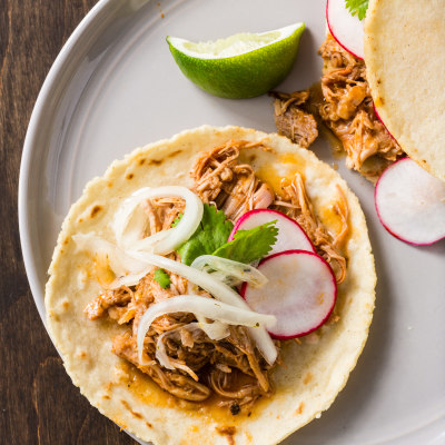Braised Turkey Tacos