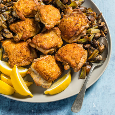 30 Minute Recipe Roasted Chicken Thighs Cook S Country