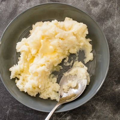 Slow-Cooker Garlic and Parmesan Mashed Potatoes