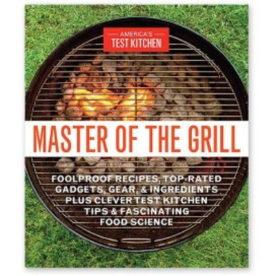 Master of the Grill cookbook
