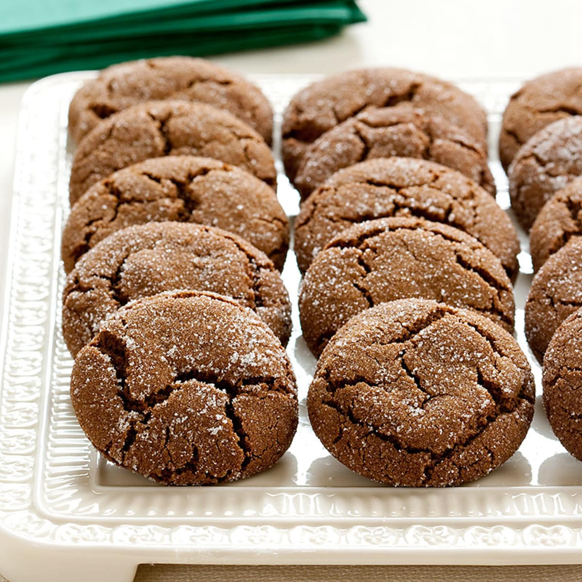 Molasses Spice Cookies With Dark Rum Glaze Cook S Illustrated