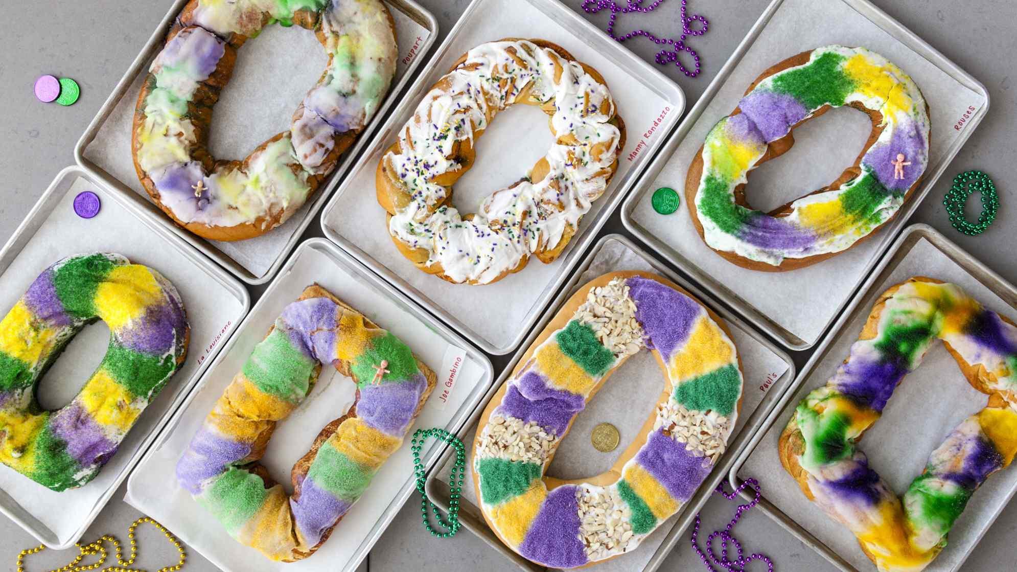 Tasting MailOrder King Cakes