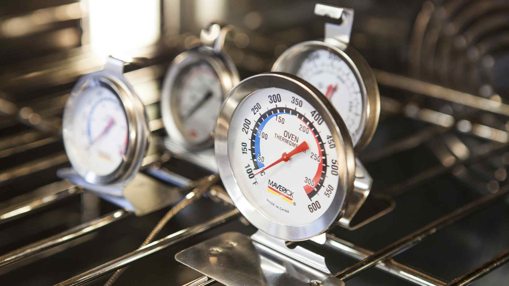 Watch Every Step. An oven thermometer ...