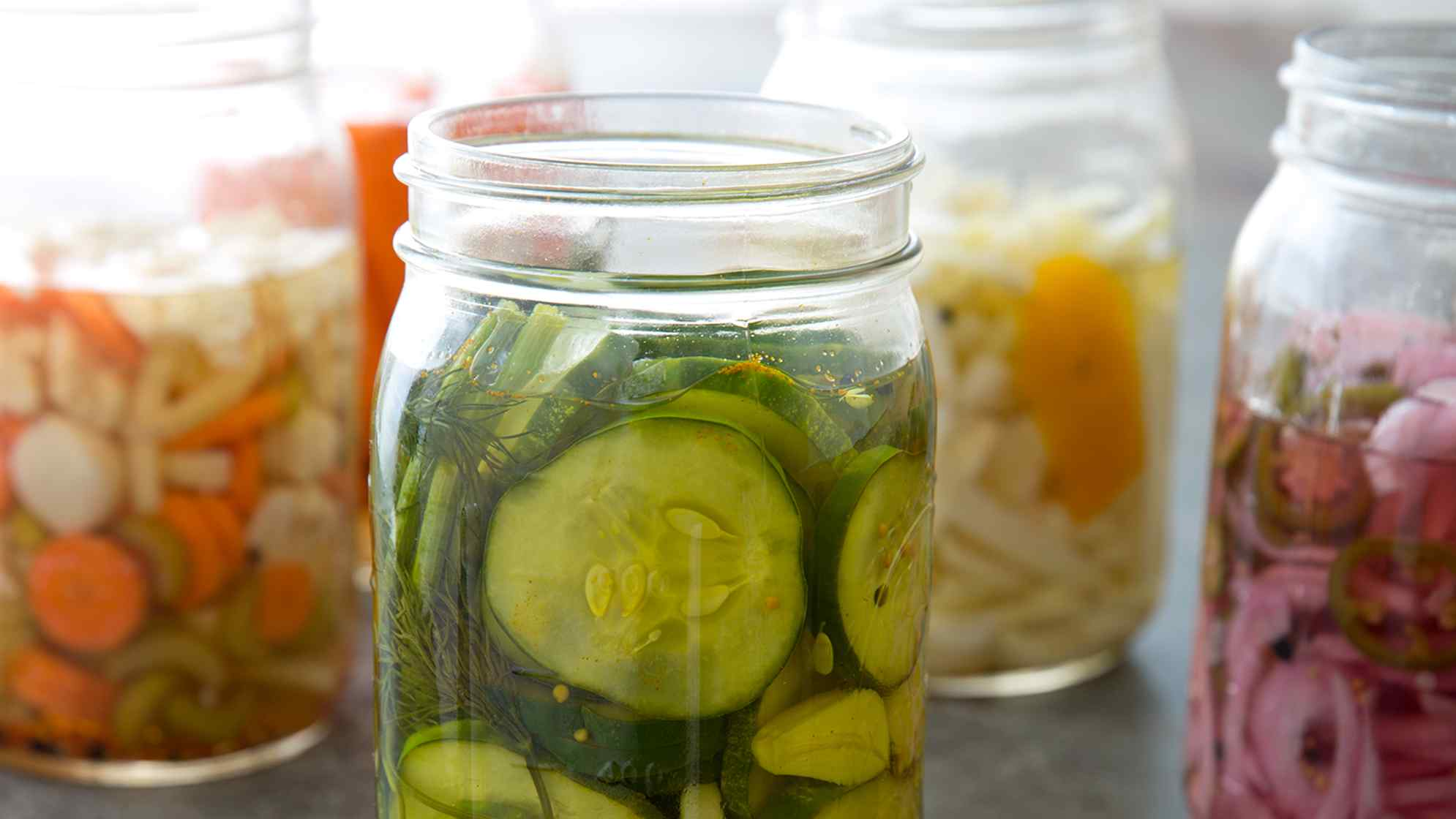 How to Make Quick Homemade Pickles