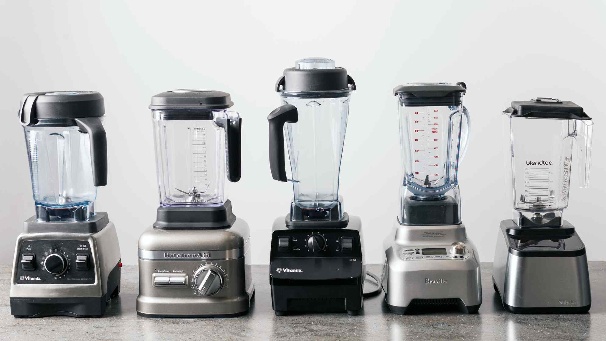 Testing High-End Blenders
