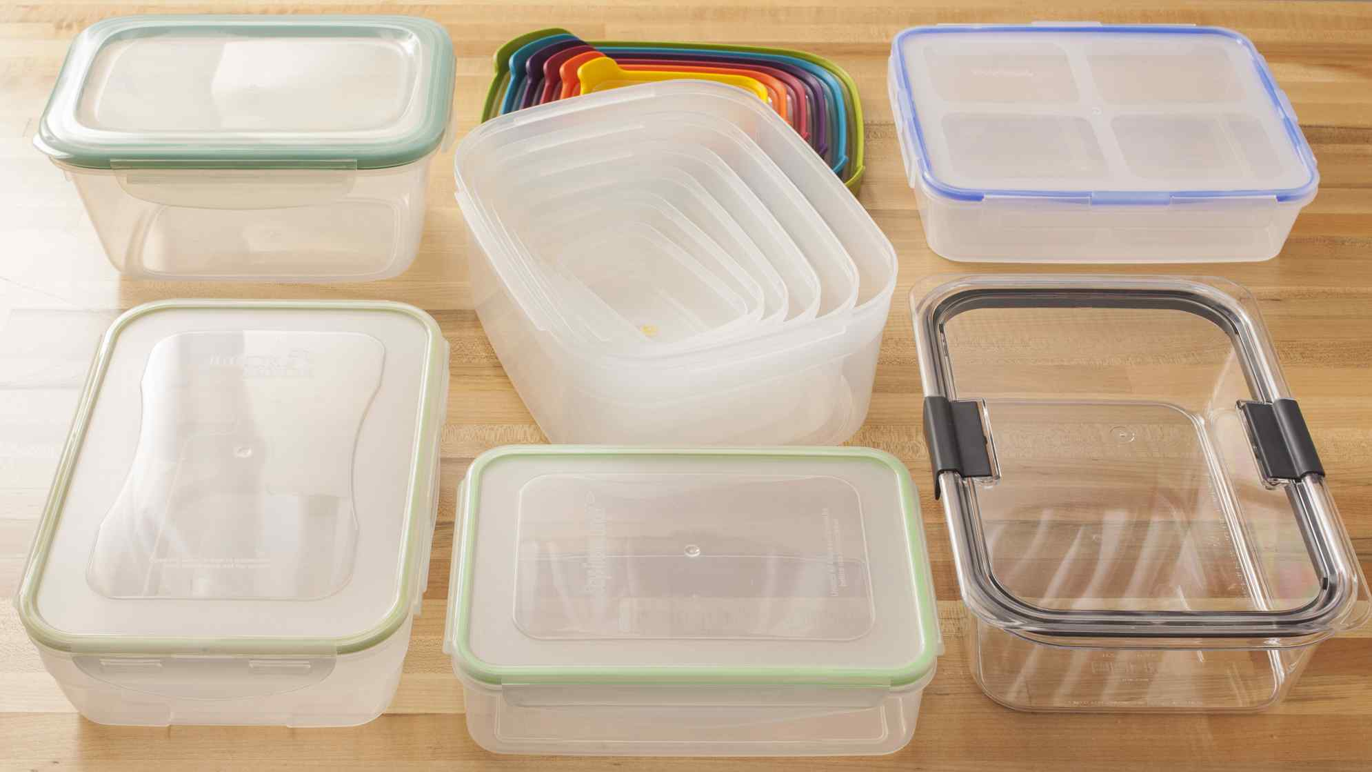 The Best Plastic Food Storage Containers