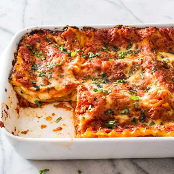 Marvelous Cheese And Tomato Lasagna. Recipe