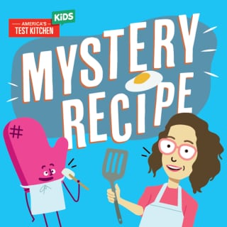 Cover art for Mystery Recipe podcast.