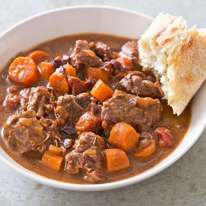 Slow-Cooker Mediterranean Beef Stew