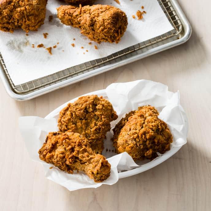 One-Batch Fried Chicken