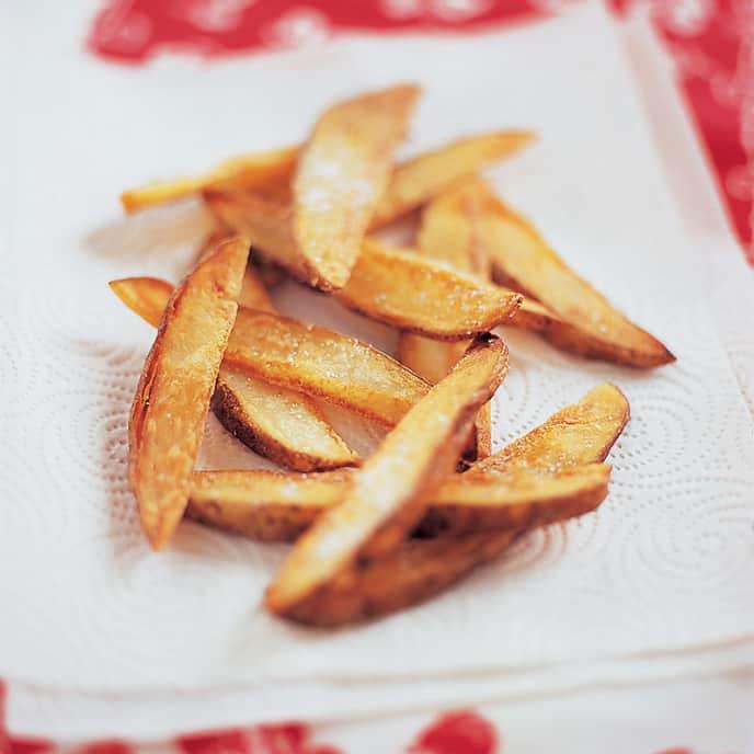 Super-Crisp Steak Fries