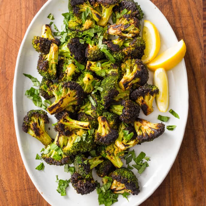 Skillet-Charred Broccoli