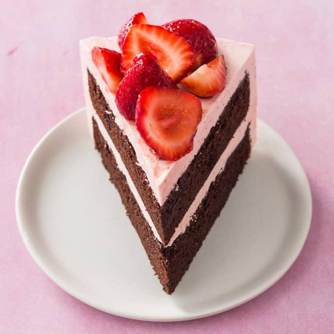 Chocolate Layer Cake Rounds