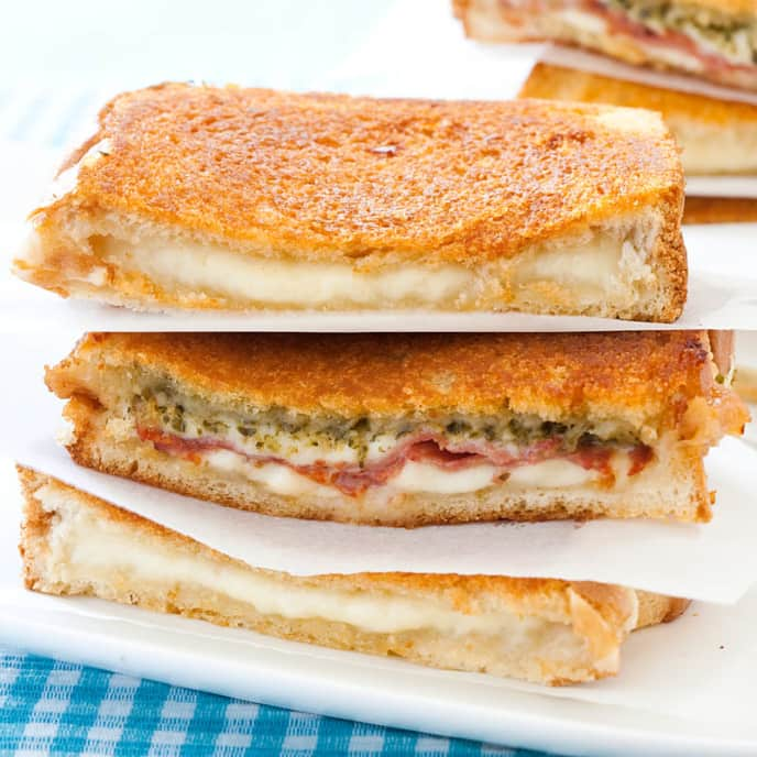 Grilled Cheese Sandwiches for a Crowd