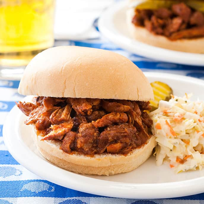 Pulled Pork for Two