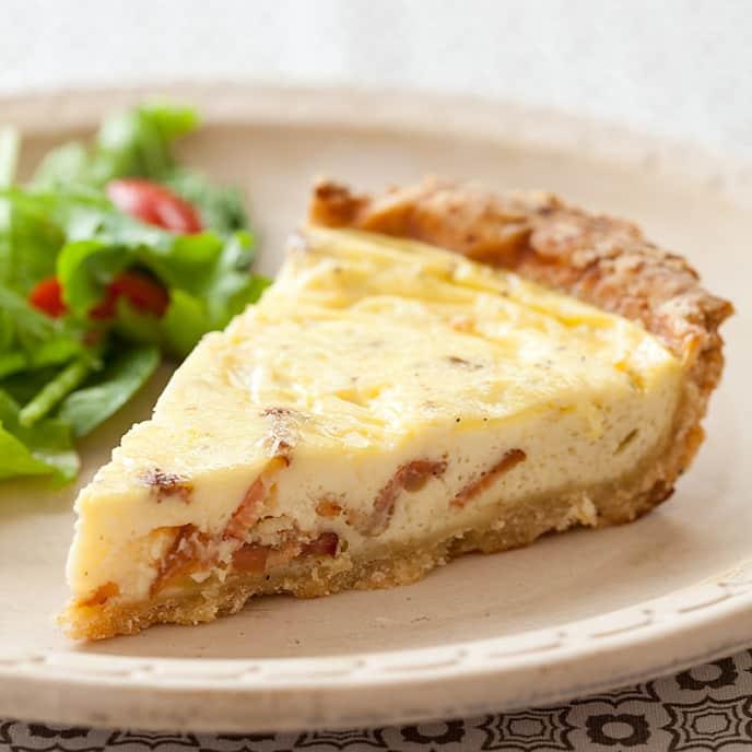 Reduced-Fat Quiche Lorraine