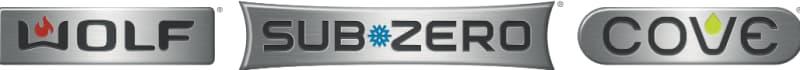Sub Zero, Wolf, and Cove logo