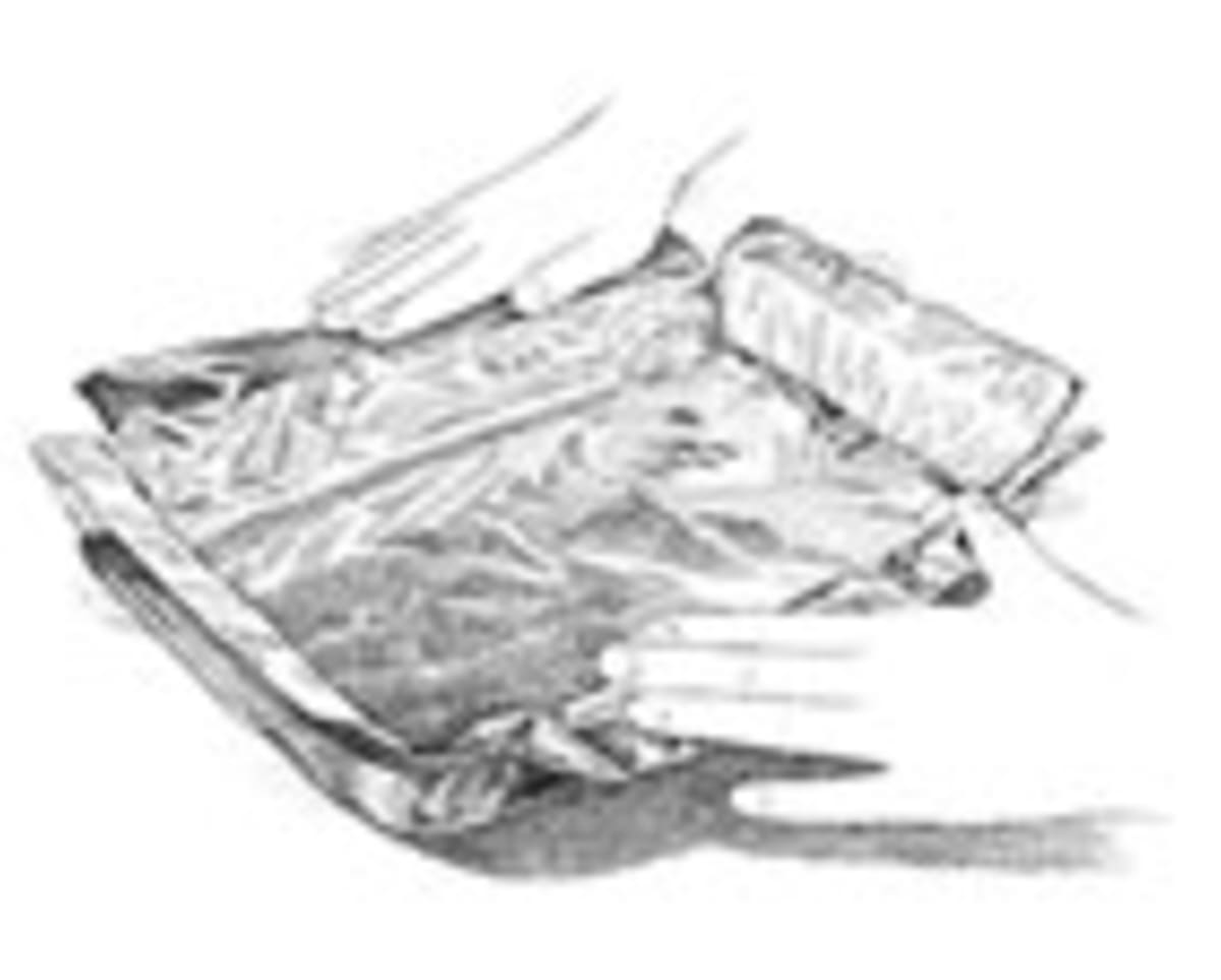 making a foil sling cook s illustrated